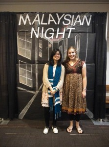 Julia Wolf at Malaysian Night 2016